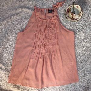 Light Pink Sleeveless Blouse